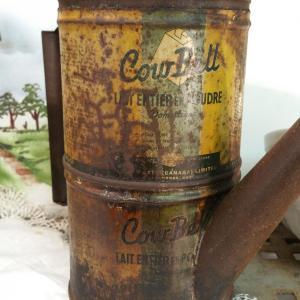 1 boite verseuse cowbell