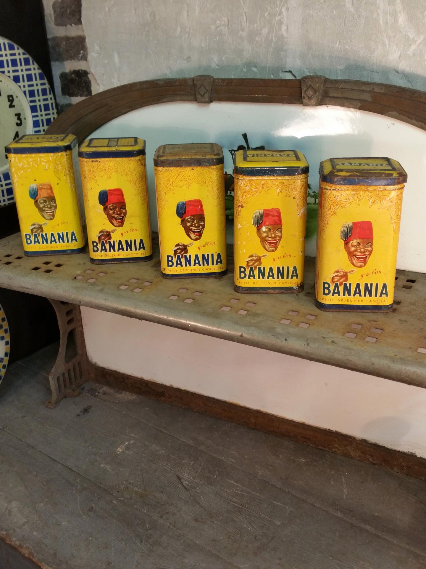 1 boites de banania