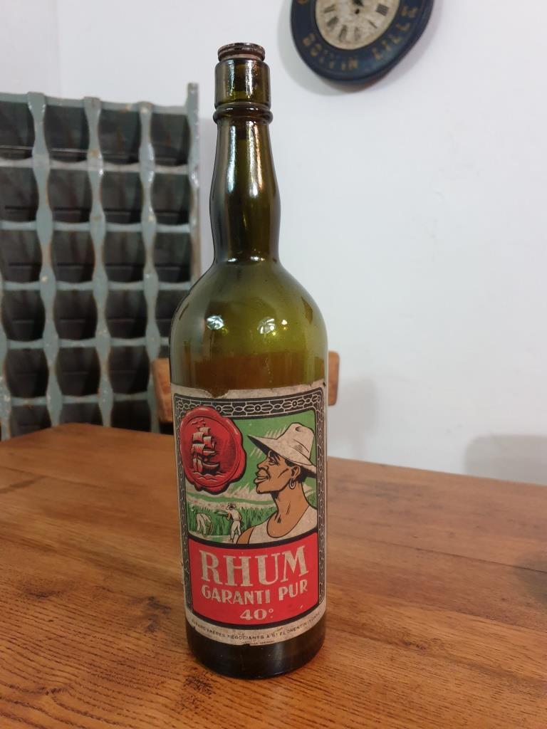 1 bouteille de rhum