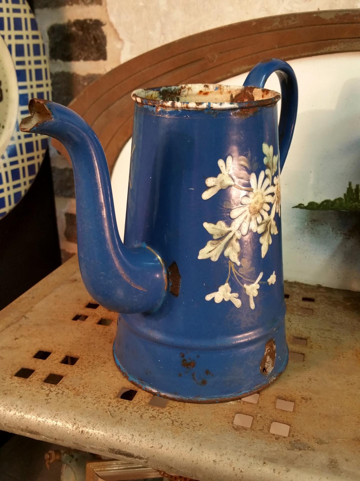 1 cafetiere bleue