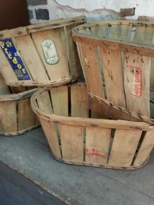 Cagettes de maraîcher