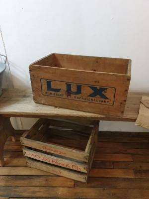 Caisse en bois LUX