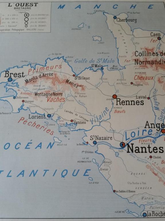 1 carte bretagne normandie