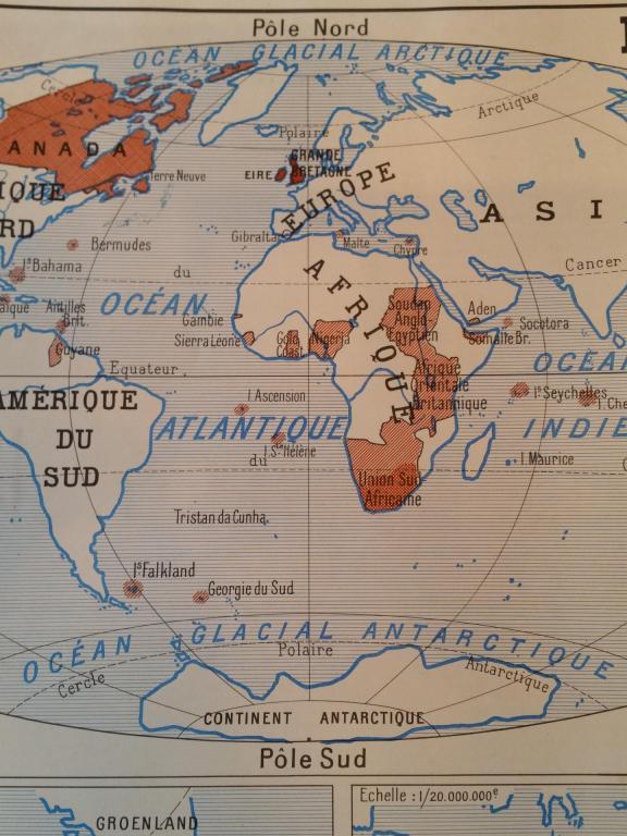 1 carte union francaise empire britanique canada australie