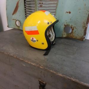 1 casque jaune jumbo helmet