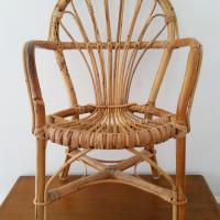 1 chaise osier enfant