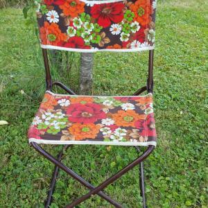 1 chaise pliante de camping