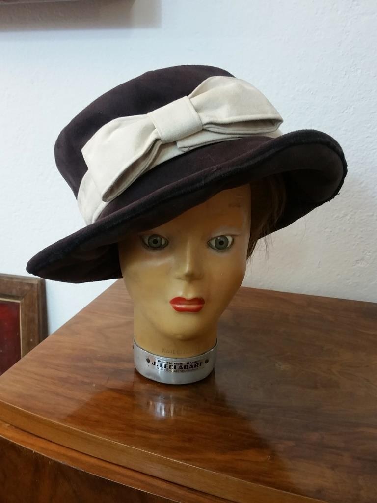 large sélection boutique officielle forme élégante ancien chapeau de femme chapeau vintage