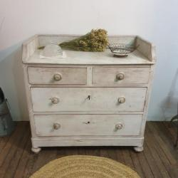 1 commode blanche