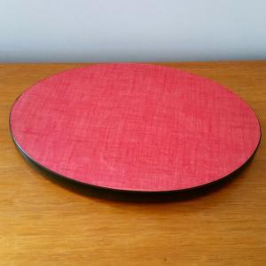 1 dessous de plat formica rouge