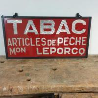 1 enseigne tabac