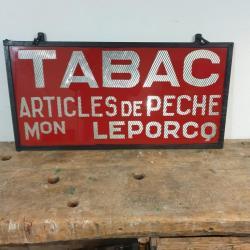 Enseigne de TABAC