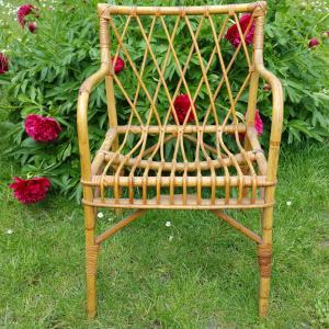1 fauteuil osier 2
