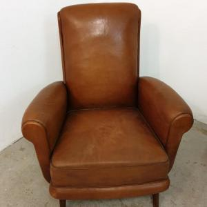 1 fauteuils cuir