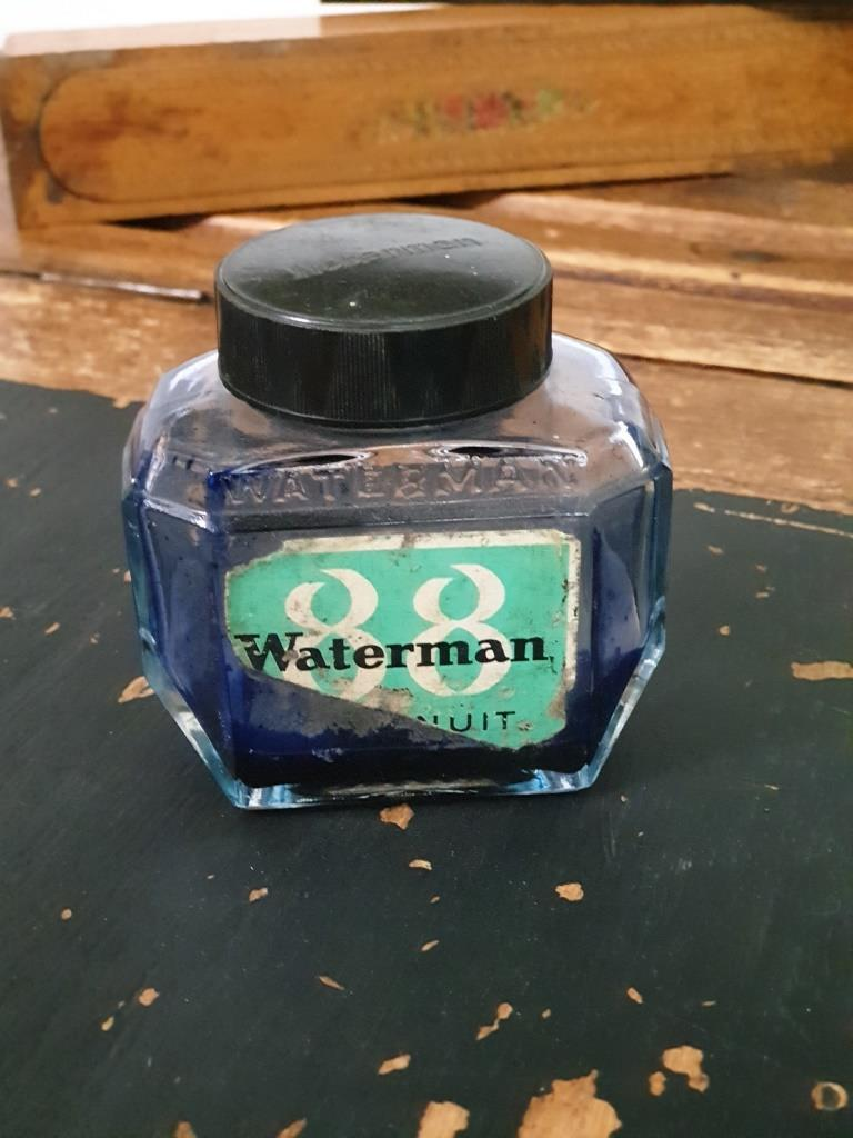 1 flacon encre watterman 3