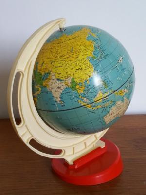 Globe terrestre 70's