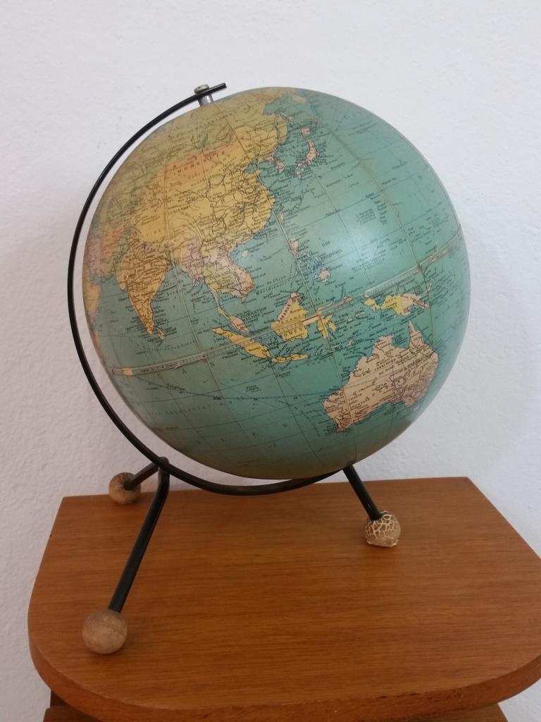 1 globe terrestre taride