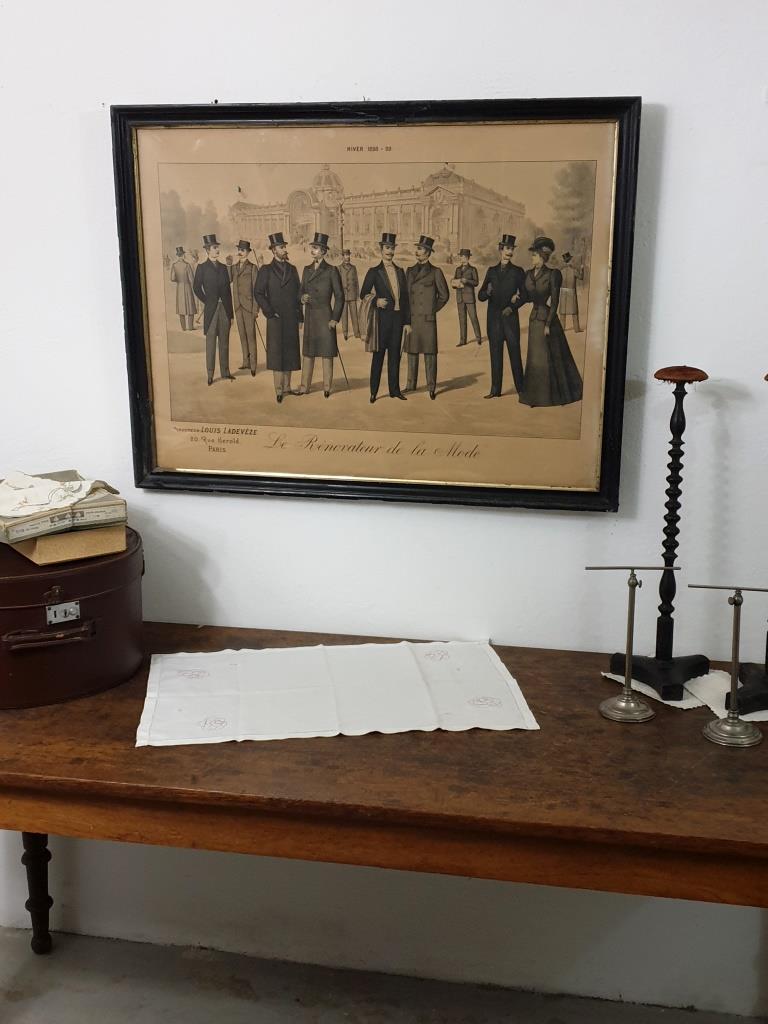 1 grand tableau le renovateur de la mode 1899
