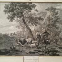 1 gravure dessine par marchais ecole hollandaise