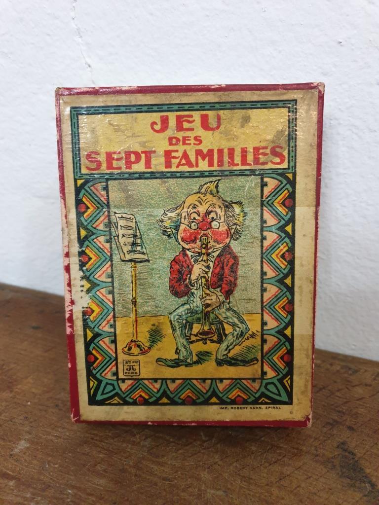 1 jeu de sept familles
