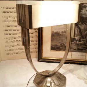 1 lampe art deco