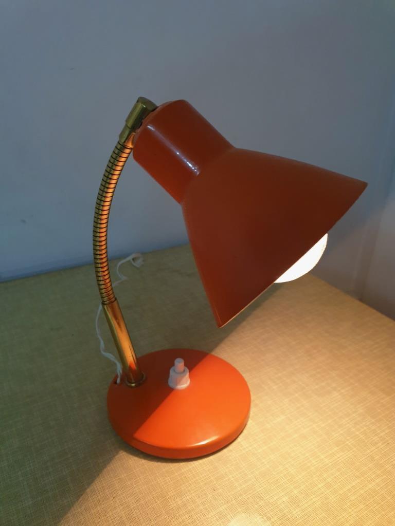 1 lampe cocotte orange