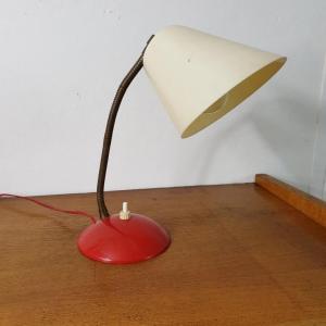 1 lampe cocotte rouge et blanche