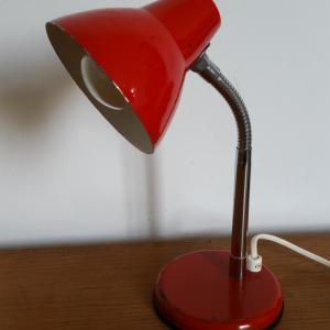 1 lampe cocotte rouge