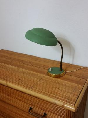 1 lampe de bureau verte 1