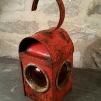 1 lampe de cheminot
