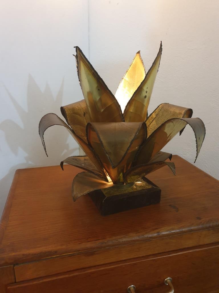 1 lampe plante agave style jansen