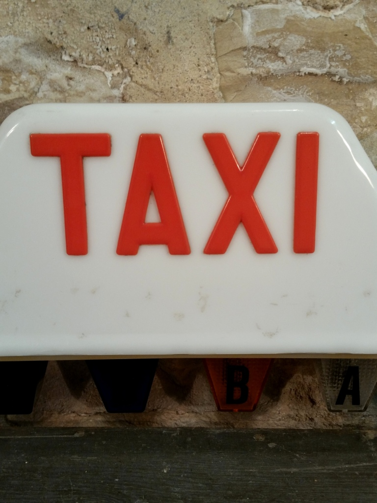 1 lampe taxi