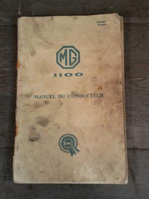 Manuel Conducteur MG