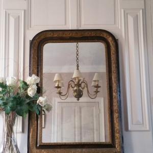 1 miroir louis philippe 1