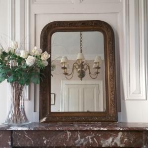 1 miroir louis philippe