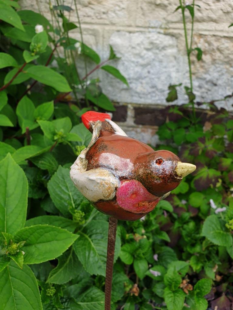 1 oiseau deco jardin