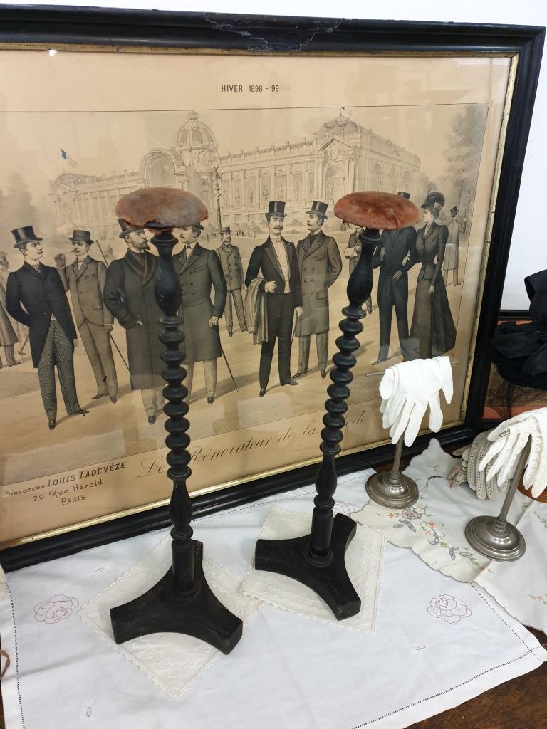 1 paire de grands porte chapeau