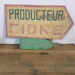 Pancarte de producteur