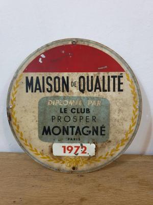 Plaque Club Montagné