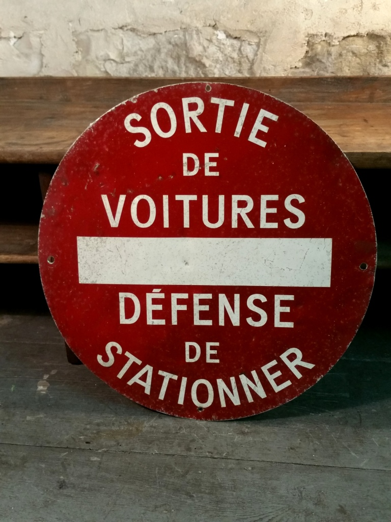 1 panneau defense de stationner 1