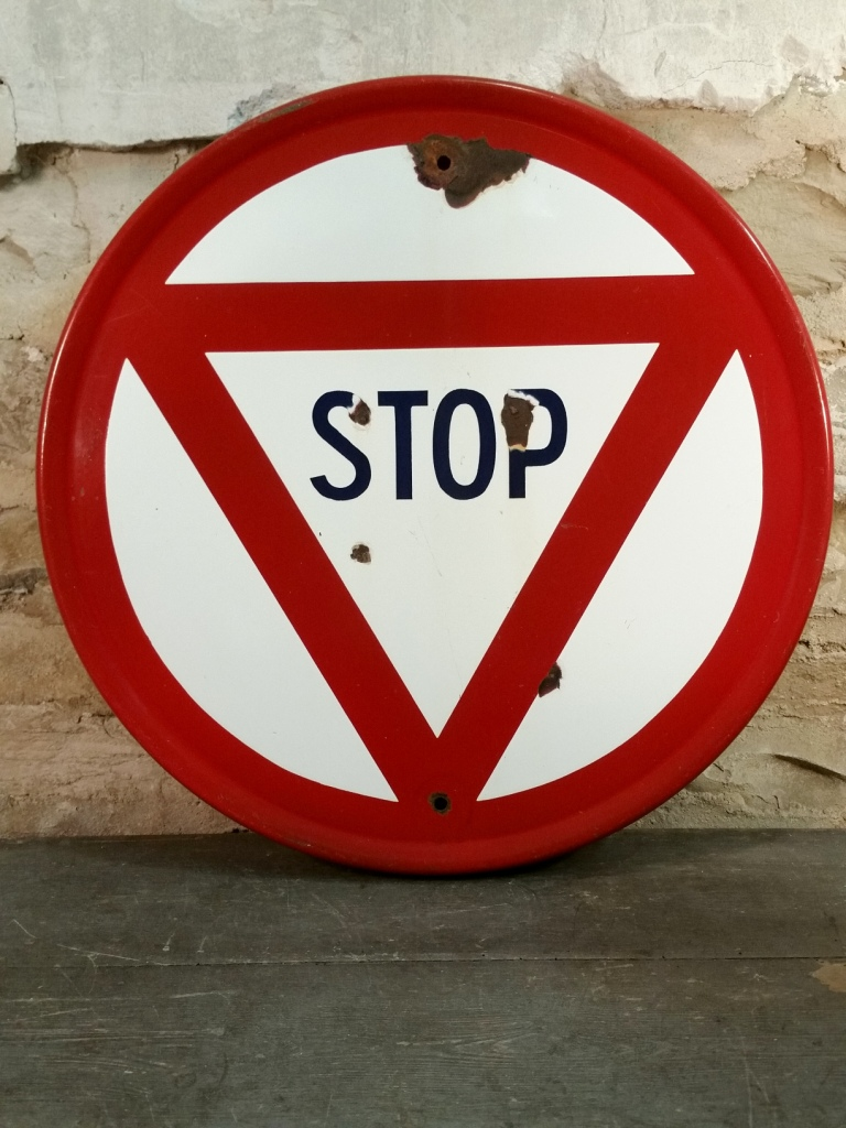 1 panneau stop