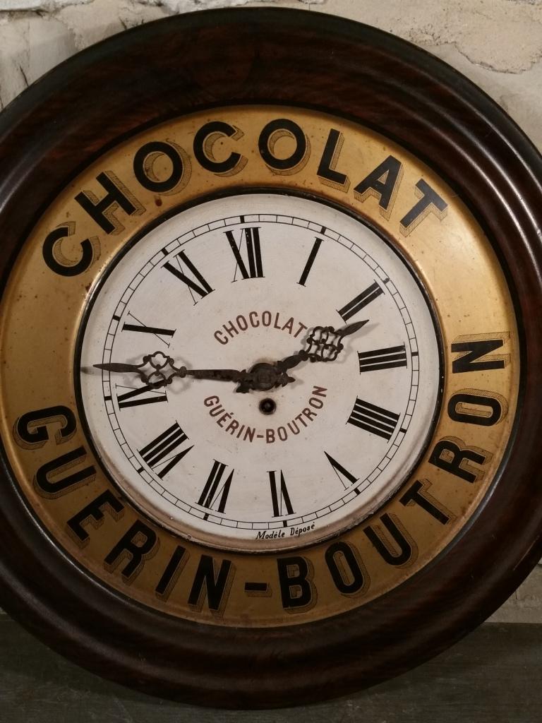 1 pendule chocolat guerin boutron
