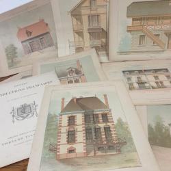 1 planches de construction francaises