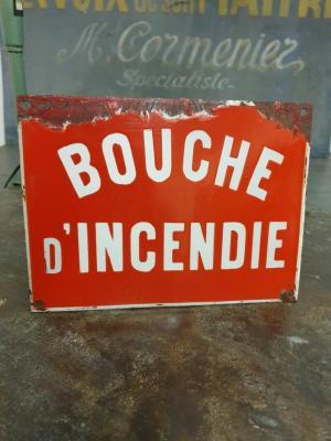 Plaque Bouche Incendie