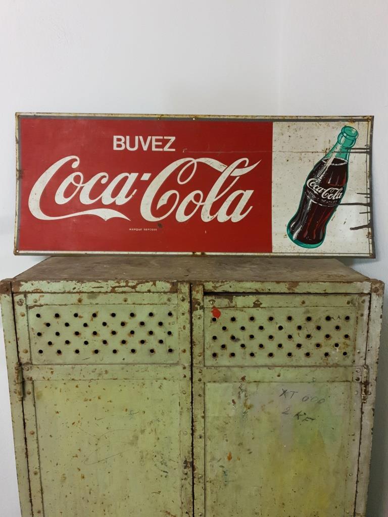 1 plaque coca cola