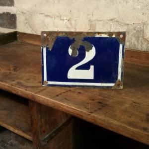 1 plaque de n de rue n 2