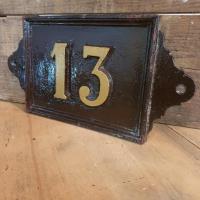 1 plaque de rue 13
