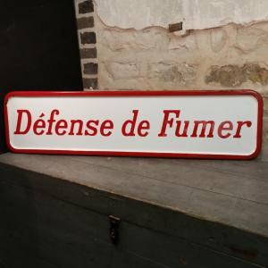 1 plaque defense de fumer