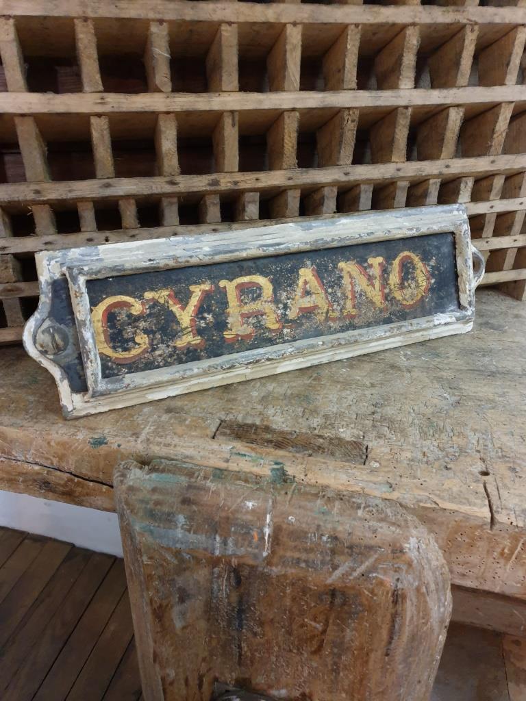 1 plaque ecurie cyrano