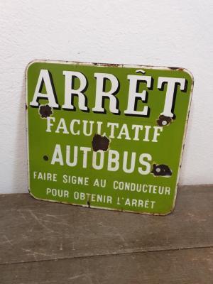 Plaque Arrêt de Bus